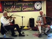 John Turner performs with John Carmichael at the Loon Mountain Games in NH